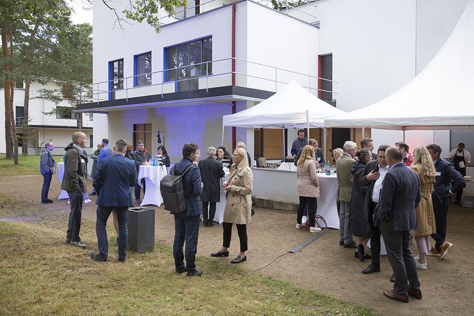 Europäische Metropolregion Mitteldeutschland: 15. Sommerfest in den Gärten der Neuen Meisterhäuser Dessau, 26.08.2021